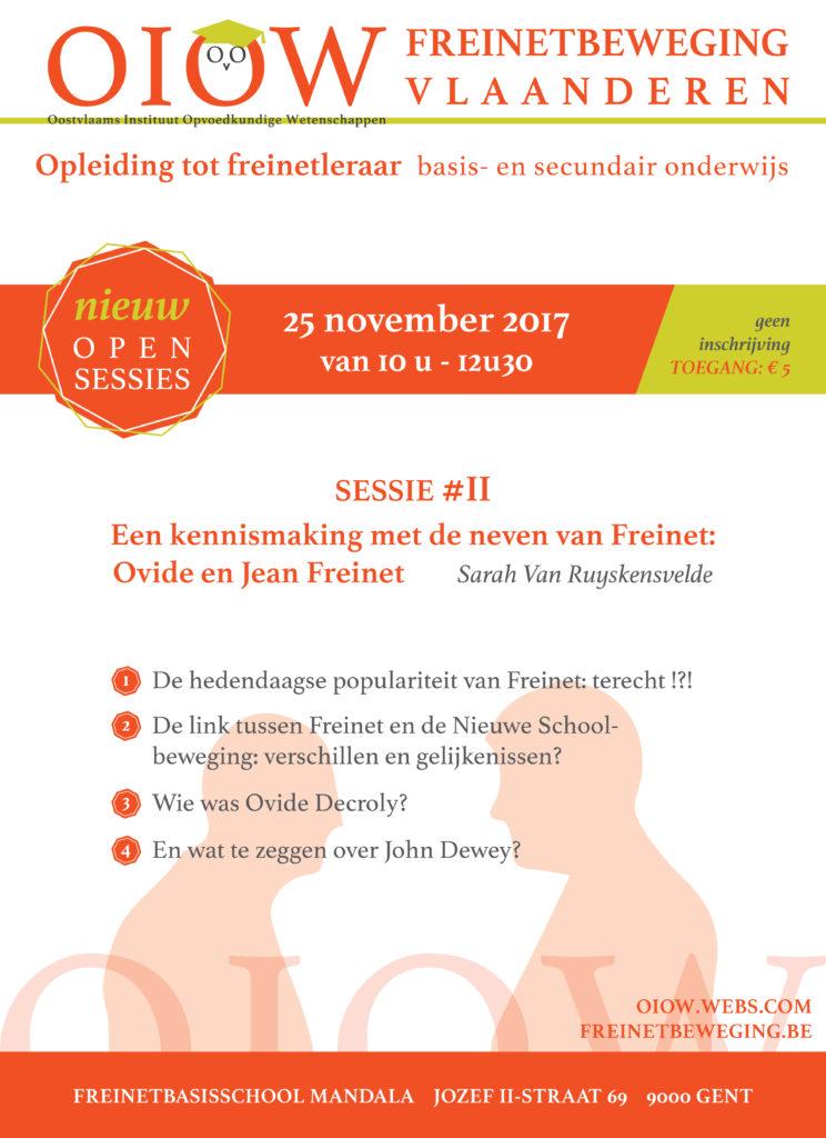 Open sessie - De neven van Freinet @ Mandala | Gent | Vlaanderen | België