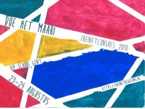 Freinetcongres @ VIPschool Gent  | Gent | Vlaanderen | België